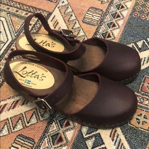 Shoes - Lotta from Stockholm Clogs Size 38